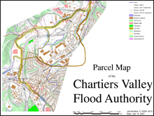flood control parcel map